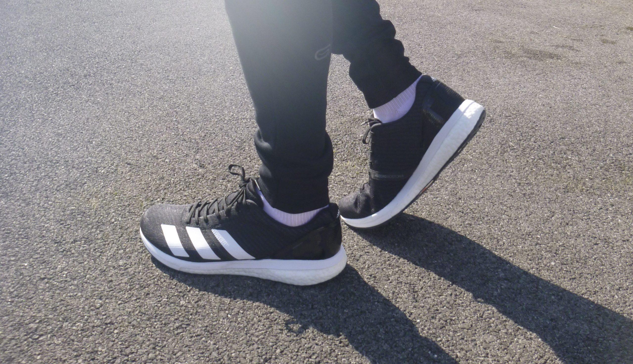 Test: Adidas Boston 8 Running up